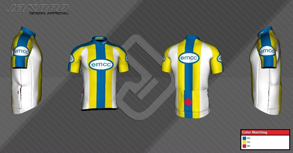 EMCC 2016 Jersey Design
